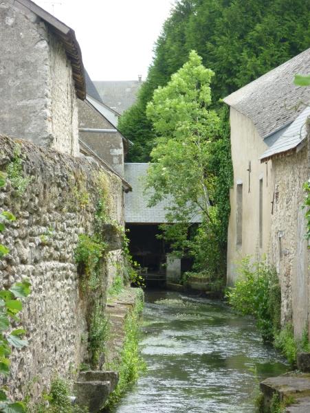 Ruisseau et son moulin