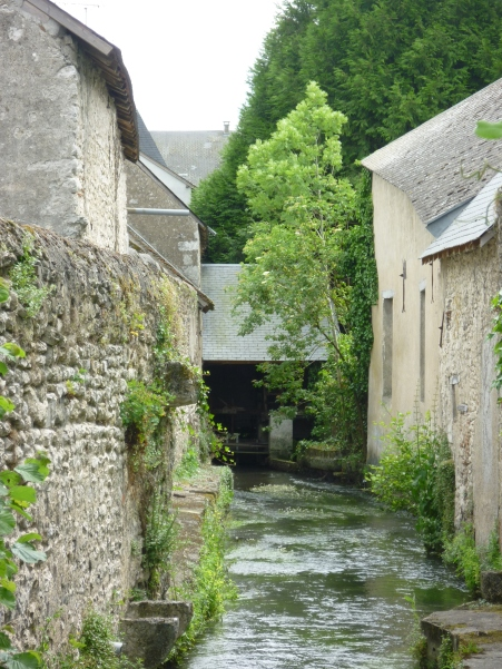 Ruisseau et son moulin