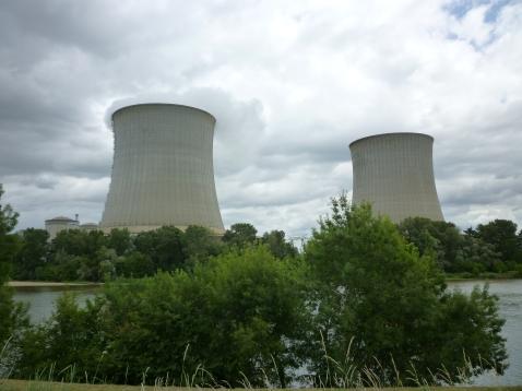 Le charme d'une centrale nucléaire