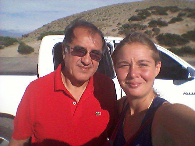 Avec Eduardo