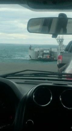 passage sur un bateau